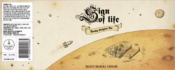 Rocket Brewing Company Sign Of Life