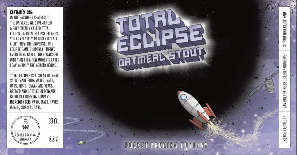 Rocket Brewing Company Total Eclipse