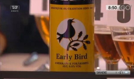 TV2 GO' Morgen Early Bird vinder 2013