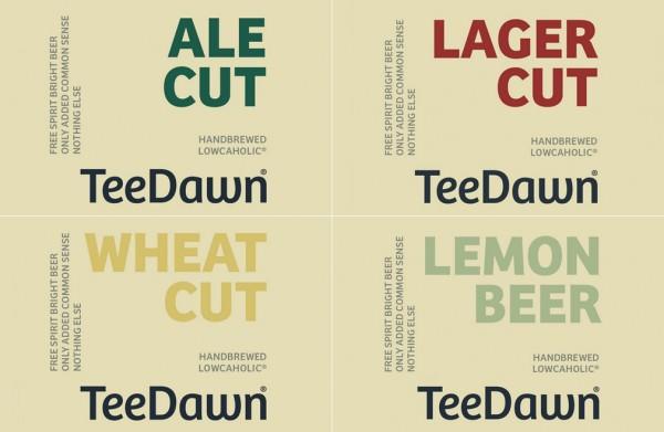 TeeDawn etiketter