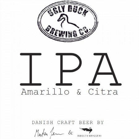 Ugly Duck Brewing Co. Amarillo & Citra IPA