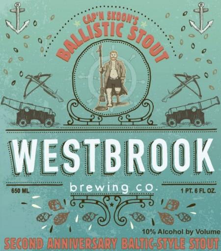 Westbrook Cap'n Skoon's Ballistic Stout