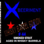 Xbeeriment #44 Smoked Stout Whisky Barrel Edition