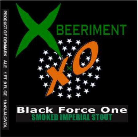 Xbeeriment Black Force One XO