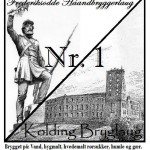 Ny øl: Frederiksodde Haandbryggerlaug/Kolding Bryglaug Nr. 1