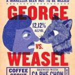 Øl på vej: Mikkeller George vs. Weasel, Recipe 1000