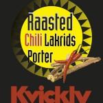Ny øl: Raasted Chili Lakrids Porter