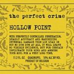 To nye øl fra The Perfect Crime: Hollow Point, Smoking Gun